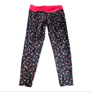 Nike Dri-fit Legging Black Pink Little Girl Size 6